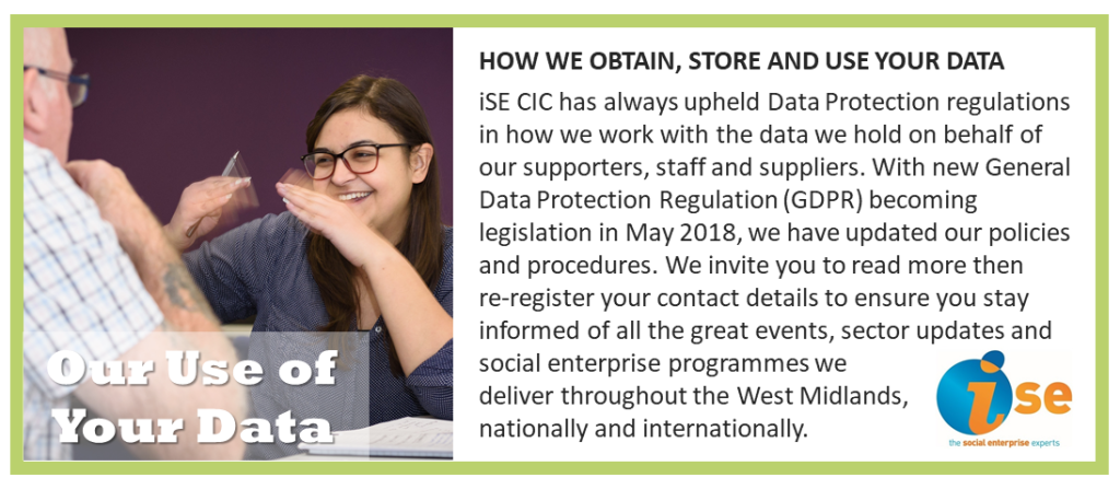 iSE Use of Data STATEMENT June 2020