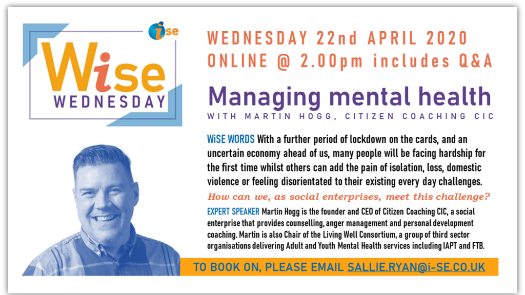 iSE WiSE Wednesday MENTAL HEALTH 220420