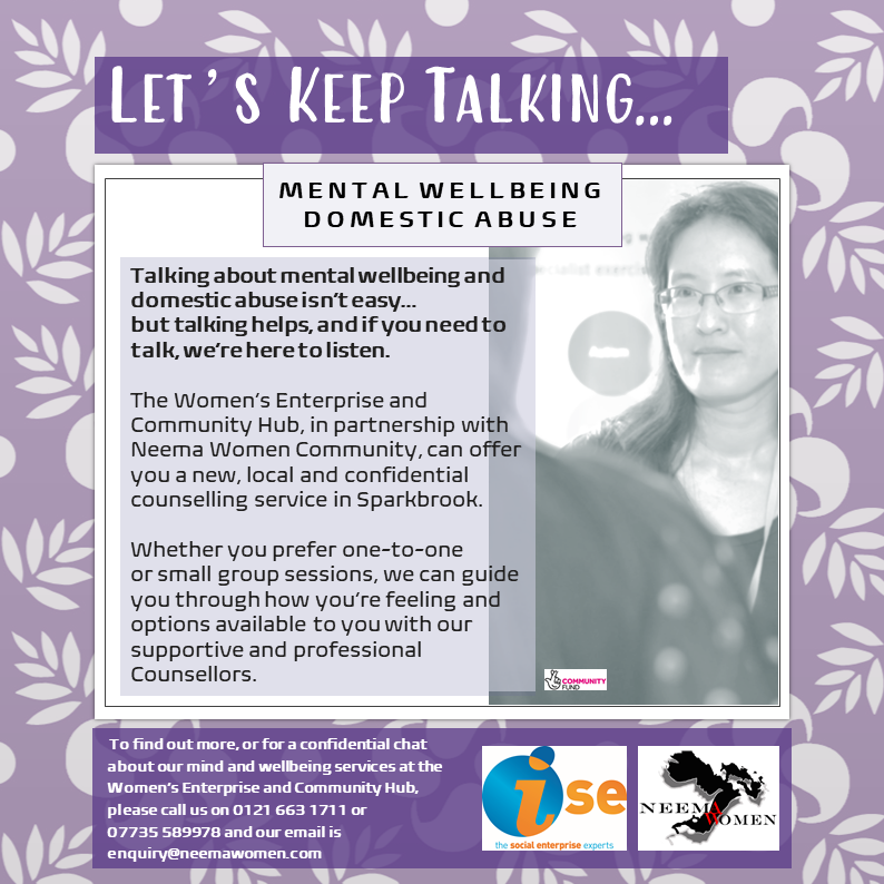 Lottery LETs TALK Mental Wellbeing Flyer Aug 2020